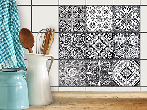 art-de-tuiles-mural-sticker-autocollant-carrelage-enjolivure-de-salle-deau-design-black-n-white-15x1