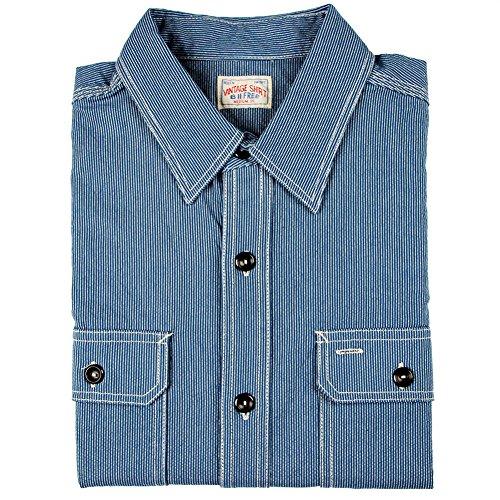 bii-free-mens-long-sleeve-wabash-work-slim-fit-shirt-100-cotton