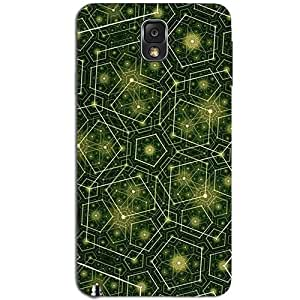 GREEN PATTERN BACK COVER FOR SAMSUNG GALAXY NOTE 3