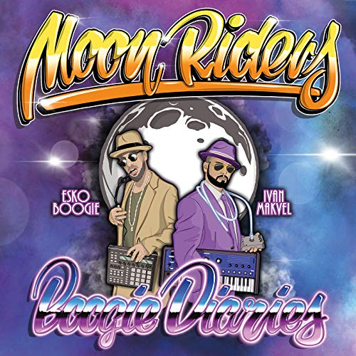Vinilo : MOON RIDERS - Boogie Diaries