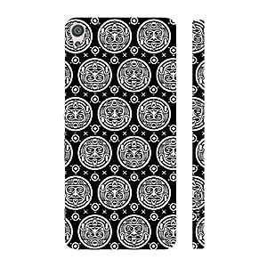 Enthopia Designer Hardshell Case Black Woodo Back Cover for Sony Xperia XA Ultra
