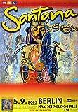 Santana Shaman 2003 - Concert Poster Concertposter
