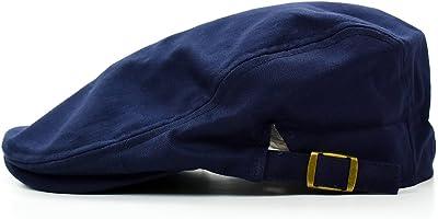 LANSCO.VI.(ランスコ) [クリサンドラ] ハンチング帽 メンズ 帽子 千鳥柄 ハウンドトゥース 柄 ハンチング 帽 無地 フリーサイズ カジュアル ブランド