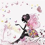 Fototapete Schmetterlingselfe KT438 Größe: 280x260cm Kinder Märchen Mädchen