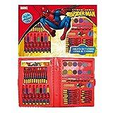 Coloriage Spiderman : Malette 53 pièces - Dessin et Peinture enfant...