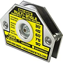 MAG-MATE WS11094AX3 3-Axis Hold Multi Angle Magnetic Welding Square with 23 lb Capacity