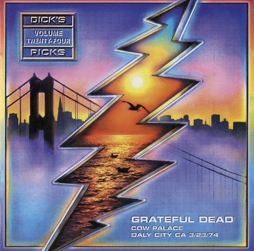 Grateful Dead - Dick's Picks Vol. 24 - Cow Palace, Daly City, CA 3/23/74 (2 CD Set)