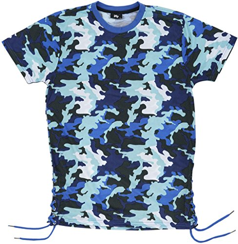 Imperious Sublimated Camo Men's T-Shirt in Blue. S-2XL. (Imperious Camo compare prices)