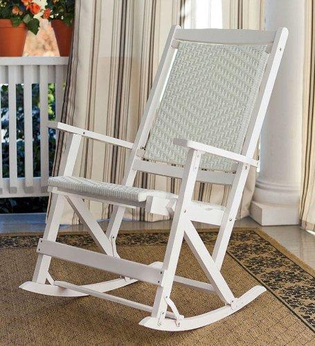 White Resin Folding Chair 1202