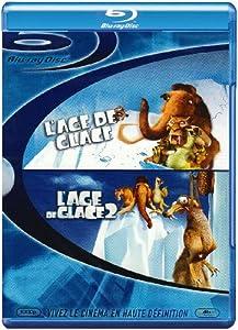 L'age de glace + L'age de glace 2 [Blu-ray] [Import belge]