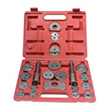 AUSWIEI 21 or 12 Pcs Sets Butterfly Brake Sub-Pump Adjustment Group Brake Pad Disassembly Replacement Tool Car Repair Special Tools (Color : 21pc) (Color: 21pc)