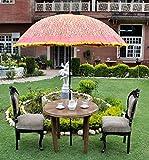 Dekorative Außen Regenschirm Sonnenschirm Garten Parasol Große 133 x 183