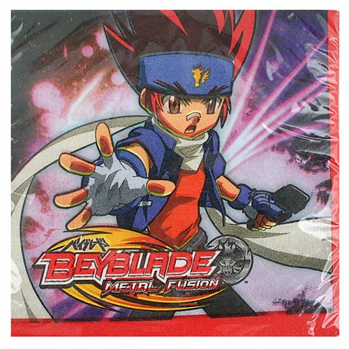 Beyblade Small Napkins (16ct) (Beyblade Birthday Supplies compare prices)