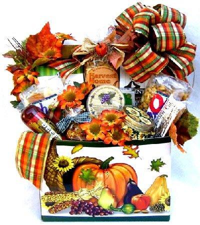 Fall Festival: Fall Gift basket
