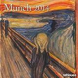 2014 Edvard Munch Wall Calendar