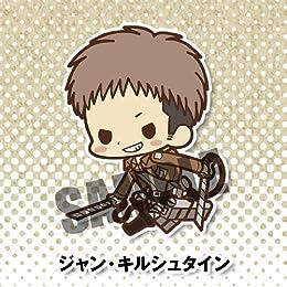 ラバーストラップコレクション 進撃の巨人 (キャラクターストラップ) BOX