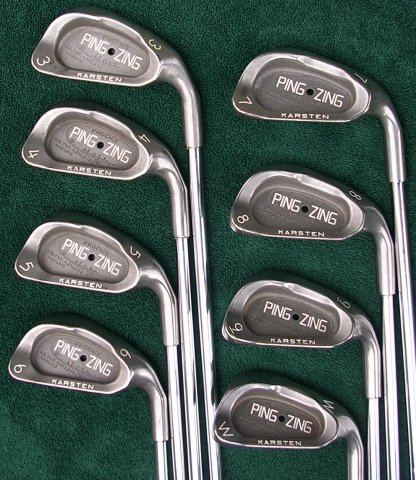 Ping Zing Golf Irons 3-PW Set Black Dot Golf Clubs
