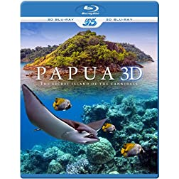 PAPUA 3D - The secret island of the cannibals (Blu-ray 3D & 2D Version) REGION FREE