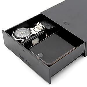 KLOUD City Black Desktop Computer ATX/MATX Hard Drive Mobile Blank Rack Drawer Tray Storage Case/Box (5.25) (Black 1) (Color: Black 1)
