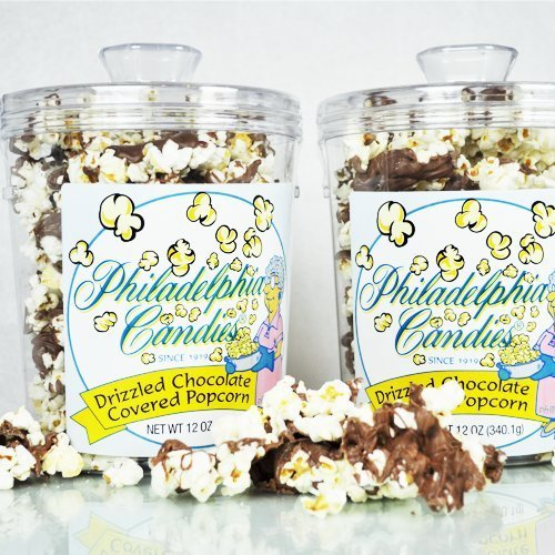 Philadelphia Candies Milk Chocolate Drizzled Popcorn