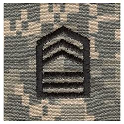 Army ROTC Rank SEW-ON for Patrol Cap - ACU DIGITAL (Cadet - Master SGT)