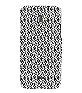 Polka Dot 3D Hard Polycarbonate Designer Back Case Cover for InFocus Bingo 50