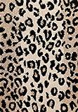 Lalee  347145768  Designer Hochflor Shaggy Teppich / Weich / Muster : Leopard / TOP Preis / Braun / Gr�sse : 80 x 150 cm