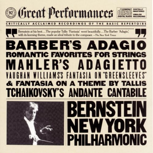 Adagio & Other Romantic Favorites for Strings by S. Barber