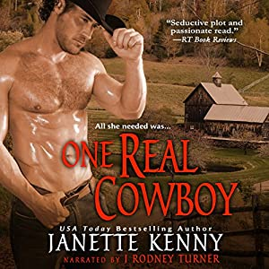 One Real Cowboy (Zebra Debut) Audiobook