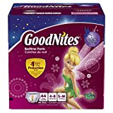 Goodnites Bedtime Pants for Girls, Small/Medium, 44 Count