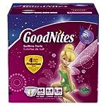 Goodnites Bedtime Pants for Girls, Sm...