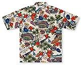 Reyn Spooner MLB Los Angeles Dodgers Tropical Hawaiian Aloha Shirt