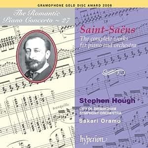 Saint-Saëns : Les cinq concertos pour piano - Wedding Cake - Rapsodie d'Auvergne - Allegro Appassionato - Africa