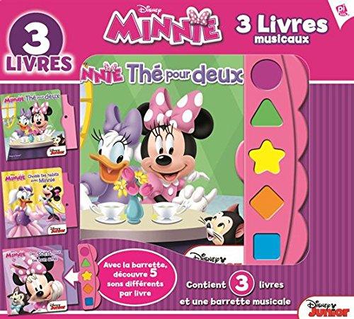Minnie, 3 livres musicaux