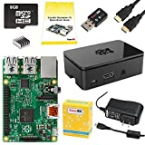 CanaKit Raspberry Pi 2 Complete Starter Kit with WiFi (Raspberry Pi 2 + WiFi + Preloaded 8GB SD Card + Case + Power Supply + HDMI Cable + Guide)