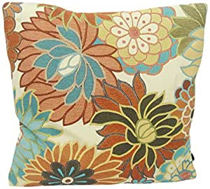 Decorative Pillows Newport Layton Home Fashions : Amazon.com: Newport Layton Home Fashions Jardiniere Knife Edge Pillow with Zipper Closure and ...