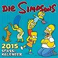 Die Simpsons Wandkalender 2015