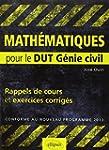 Mathematiques : Pour le DUT G�nie civ...