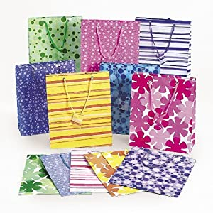 Mega Colorful Gift Bag Assortment (5 dz)