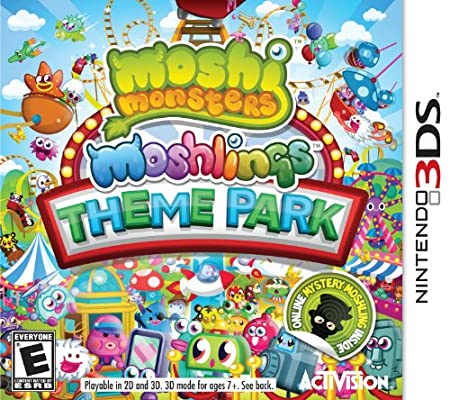 Moshi Monsters Moshlings Theme Park 3DS