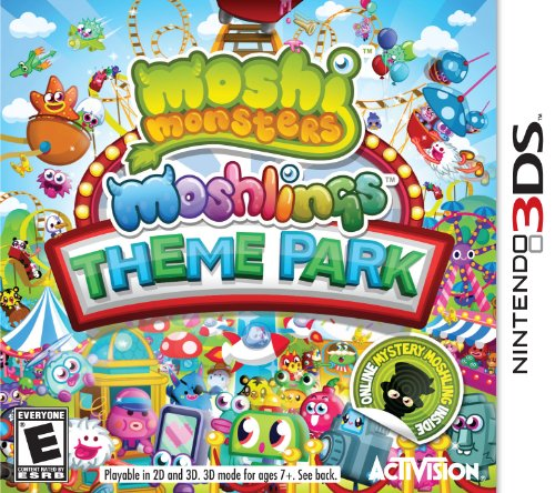 Moshi Monsters Moshlings Theme Park - Nintendo 3DS - 1