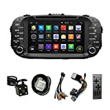 8'' TFT Touchscreen GPS Navigation for KIA SOUL 2014 2015 Android 5.1 Quad-Core w/ Car Stereo DVD player+WIFI+Bluetooth+Radio+Steering Wheel Control+Sd/usb+AUX IN+Rear View Camera+Free US Map