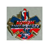 Autism Awareness 1st Responder firefighter fireman paramedic Pins (Color: multicolored)