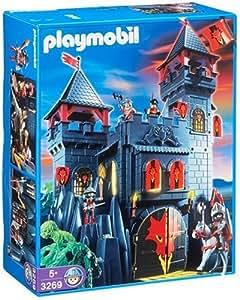 Playmobil - 3269 - Chevaliers -  Château + Forteresse du Dragon