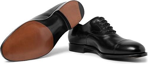 画像にマウスを合わせると拡大されます Edward Green(エドワードグリーン) [エドワードグリーン] Men`s Chelsea Cap-Toe Burnished-Leather Oxford Shoes メンズオックスフォードシューズ (並行輸入品)