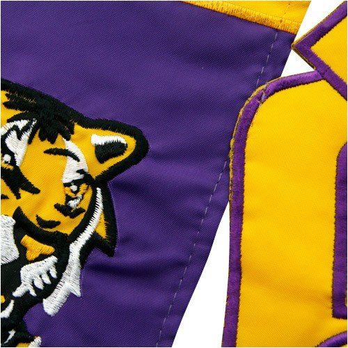 Evergreen Enterprises Lsu Tigers Applique Sculpted Garden Flag