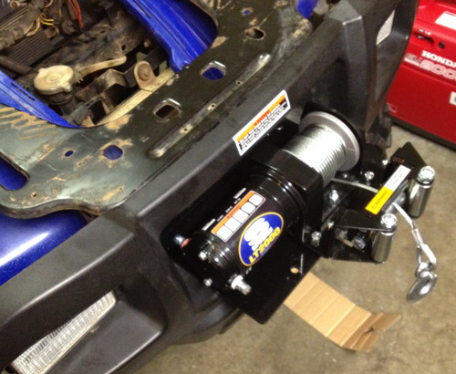 Winch Mounting Plates? - Polaris ATV Forum