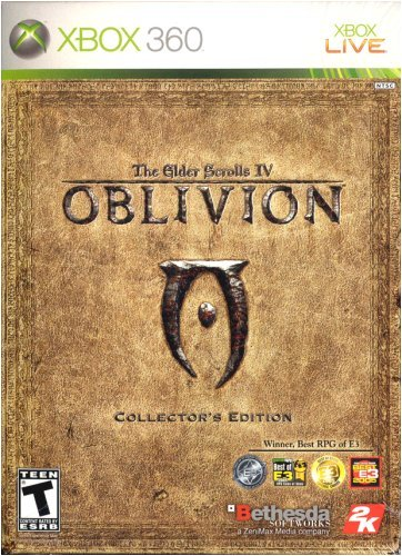 The Elder Scrolls Iv: Oblivion (Collector'S Edition) -Xbox 360 front-670913