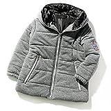 (シスキー) SHISKY キッズ M0-0 ボーイズ 袖ワッペン付きカット中綿ジャケット 上着 アウター 羽織り 防寒100 3-3