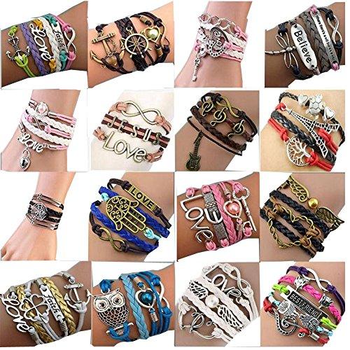 thyway-western-style-hot-handmade-vintage-leather-rope-wrap-bangle-bracelets-infinity-love-best-frie